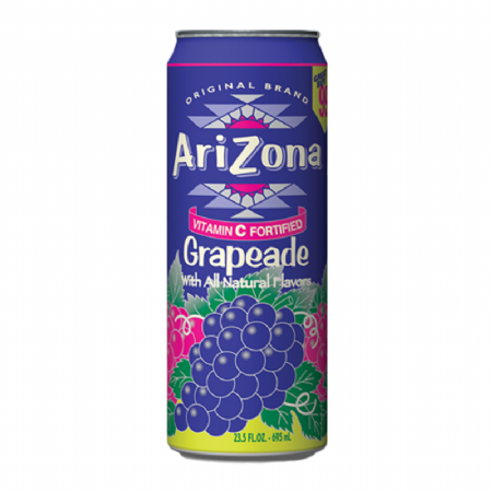 Arizona Grapeade  23 fl.oz 680ml (US)
